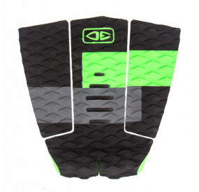 OCEAN & EARTH OWEN WRIGHT 3 PIECE TAIL PAD LIME